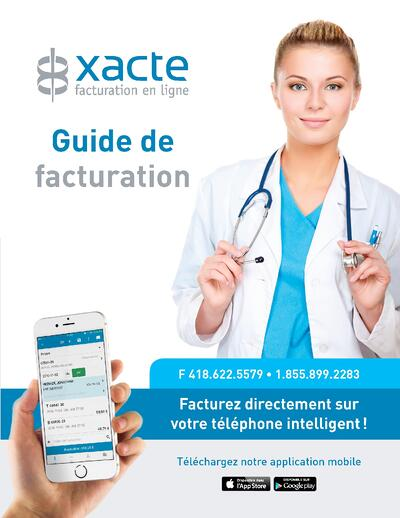 Billing guide Specialty Xacte