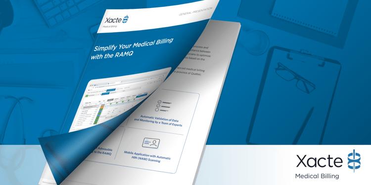 Product Sheet Whitepaper Xacte Medical Billing